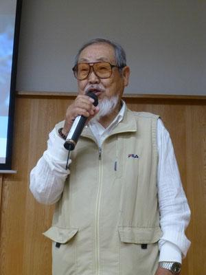 まちづくり協議会 氏木会長からご挨拶