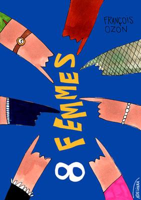 FRANCOIS OZON, 8 FEMMES