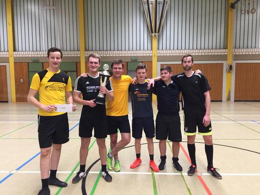 Das Siegerteam: Maximilian Barjenbruch, Magnus Rehling, Patrick Kuhlmann, Jannis Buck, Jonas Niepel, Jens Düvel