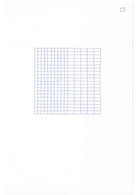 15 (2106), Durchschreibepapier, 21,9x29,7cm