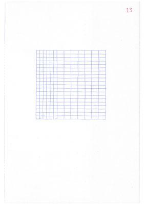 13 (2106), Durchschreibepapier, 21,9x29,7cm