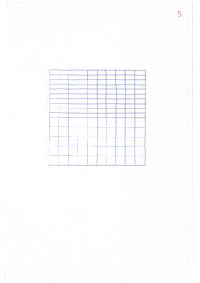 5 (2106), Durchschreibepapier, 21,9x29,7cm