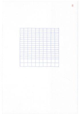 8 (2106), Durchschreibepapier, 21,9x29,7cm