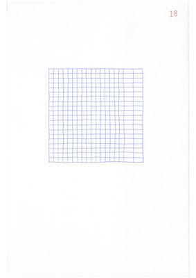 18 (2106), Durchschreibepapier, 21,9x29,7cm