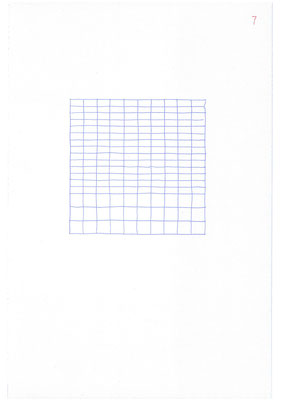 7 (2106), Durchschreibepapier, 21,9x29,7cm