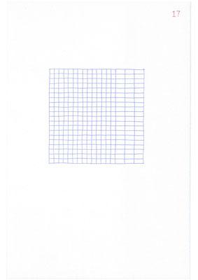 17 (2106), Durchschreibepapier, 21,9x29,7cm