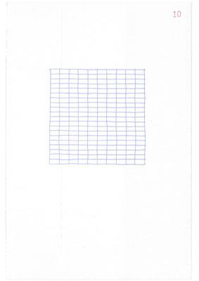 10 (2106), Durchschreibepapier, 21,9x29,7cm
