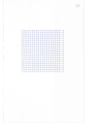 19 (2106), Durchschreibepapier, 21,9x29,7cm