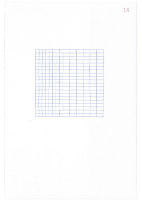 14 (2106), Durchschreibepapier, 21,9x29,7cm