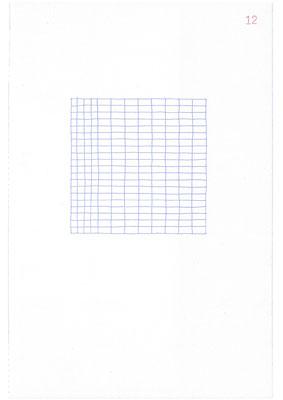 12 (2106), Durchschreibepapier, 21,9x29,7cm
