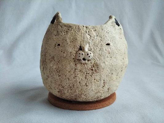 KRD-14⑤ ネコ植木鉢 間口8.0x7.5cm / 高さ8.0cm 3080円