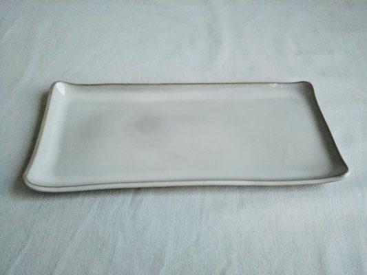 長皿(無地)約24.0x11.5cm 3630円