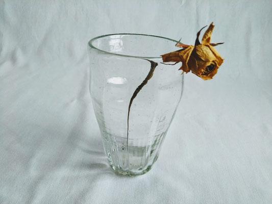 rasaグラス(L)φ8.0cmx高さ12.5cm 2750円