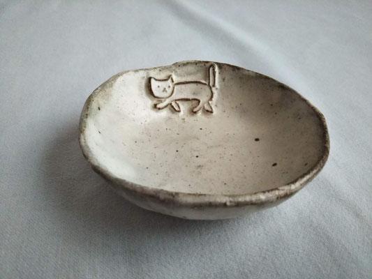 KRD-1⑤ ねこ豆皿 φ8.5cm 1650円