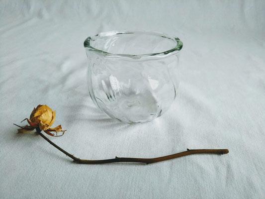 丸いモール小鉢 φ8.0cmx高さ7.0cm 2530円
