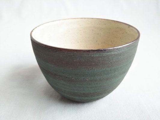 湯呑み(錆浅葱)φ9.0cmx高さ6.5cm 2200円