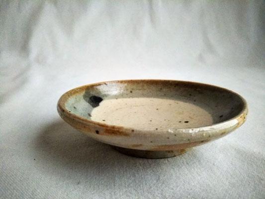 三寸皿(刷毛目一筆)φ9.0cm 1320円
