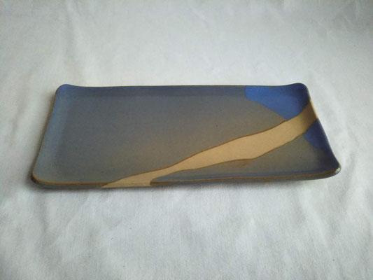 長皿(青)約24.0x11.5cm 3630円
