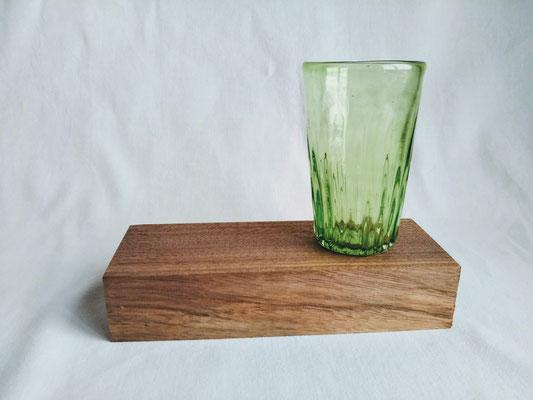 earlyグラス(緑)φ6.5cmx高さ10.5cm 2530円