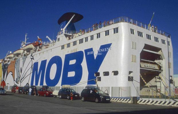 158 - Moby Lines Fähre zwischen Genua und Bastia.