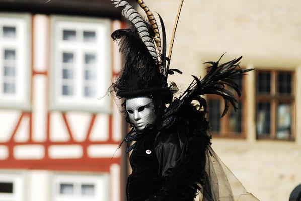 9 - Hallia Venezia - Schwäbisch Hall feiert Karneval venezianisch , originell und fast so schön wie original