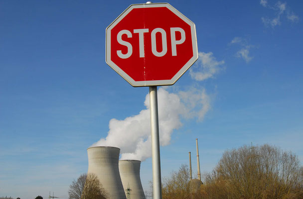 1-Grundremmingen 1, AKW, Stop, Atomkraft, gegen