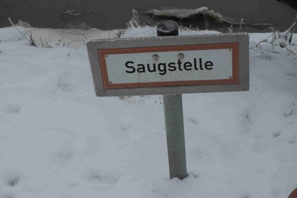 23- Saugstelle, Hydrant, Schild