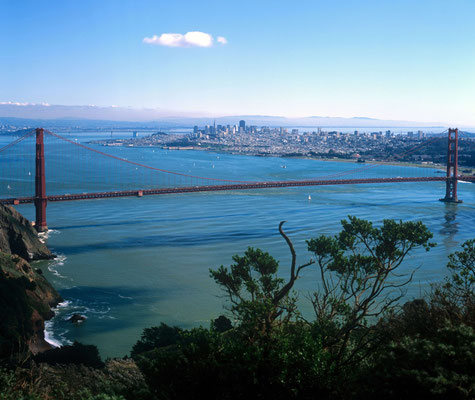 10- Golden Gate Bridge, Totale, USA
