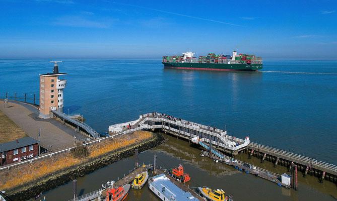 25 - Cuxhaven - der Blick auf die Alte Liebe