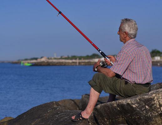83 - Angler in Kroatien
