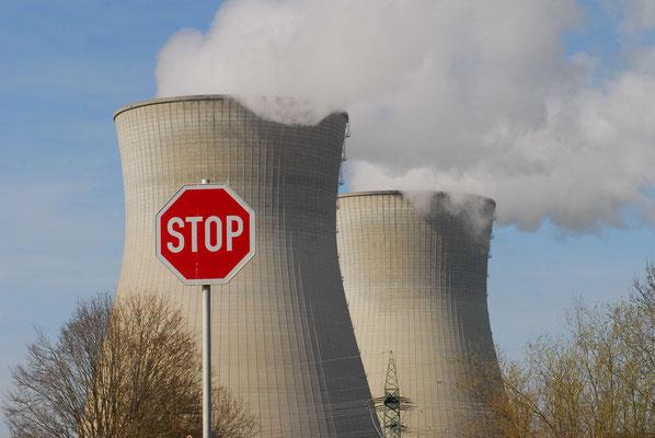 2- Grundremmingen 2, Atomkraftwerk, AKW, Stop