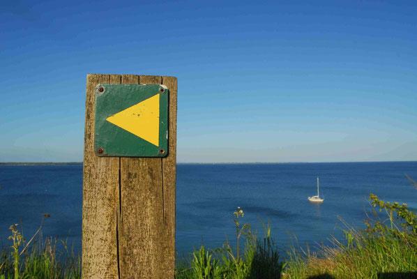 40- Richtung link, direction, left, Meer, ocean