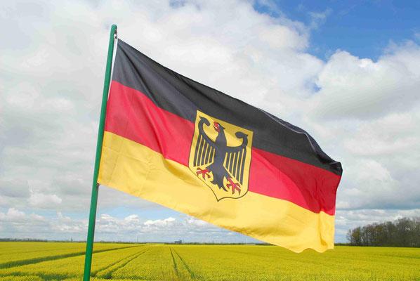 55- Deutschlandfahne, Flagge, Deutschlandflagge, Deutschland