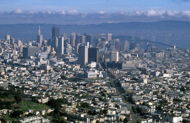 4- San Francisco, Blick von oben, USA