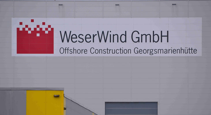 124- Weser Wind GmbH in Bremerhaven, ein Offshore Construction Georgsmarienhütte, der Standort in Bremerhaven.