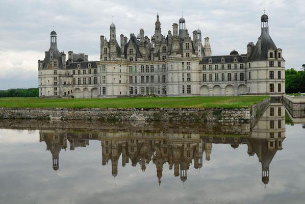 14 - Frankreich Schloss Chambord, größtes Schloss in der Loire-region. Renaissance.