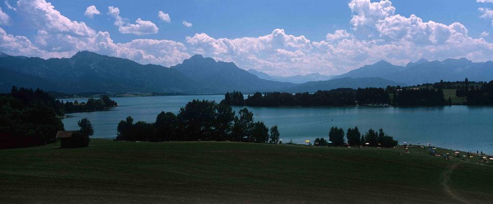 6- Algäu Bergsee, Alpenpanorama