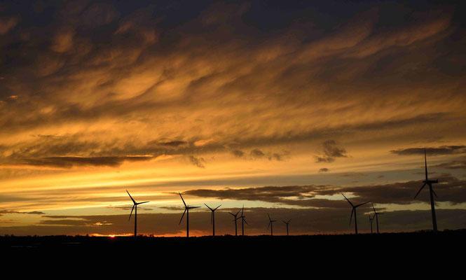 75 - Windräder am Horizont, Niedersachsen