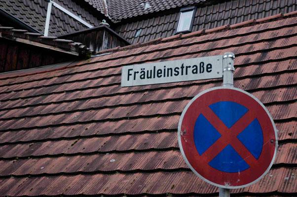 98-  Straßenschild Fräuleinstraße, Bietigheim-Bissingen