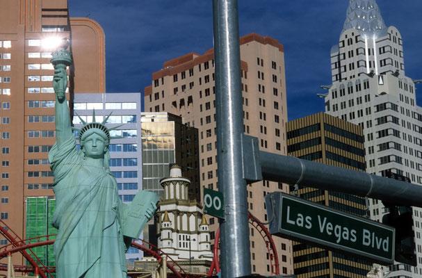 7- Las Vegas, Stadtansicht, USA