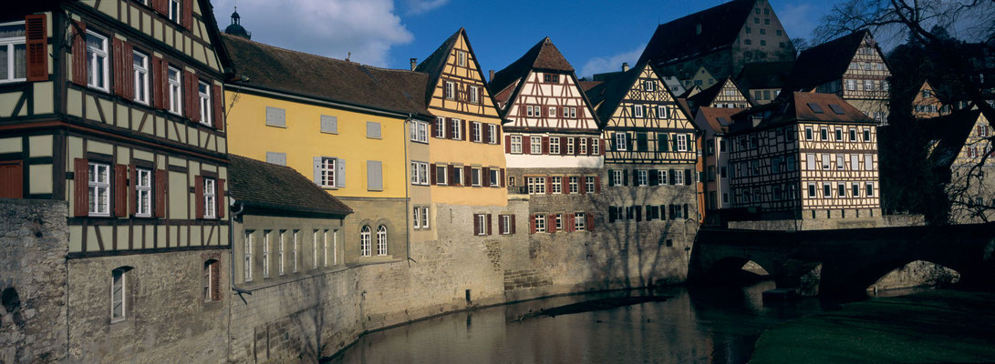 2- Schwäbisch Hall, Kocherblick, Mittelalter Kulisse, Baden Württemberg