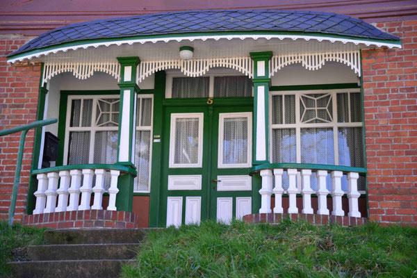 52 - Kehdinger Land Typische EIngangstüren alter Bauernhäuser.
