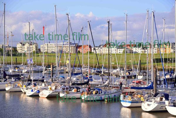 5- Yachthafen in Cuxhaven.