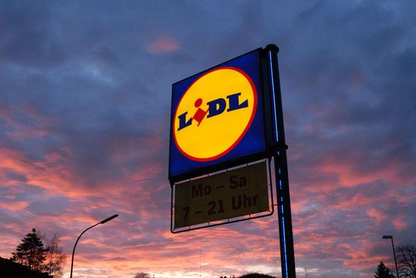 9- Lidl, Supermarkt