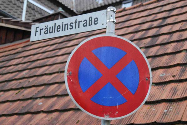 97-  Straßenschild Fräuleinstraße, Bietigheim Bissingen, Neckar