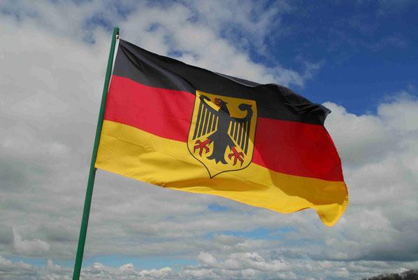 54- Deutschlandfahne, Flagge, Deutschlandflagge, Deutschland
