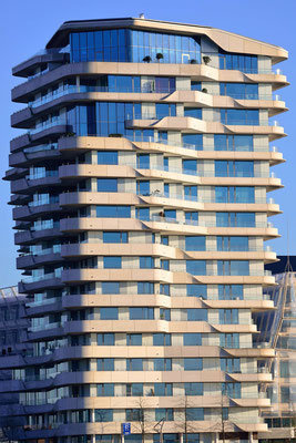 3- Hamburg, Marco Polo Tower, Hochhaus, stand alone, Übersicht, Stadt, Hafencity