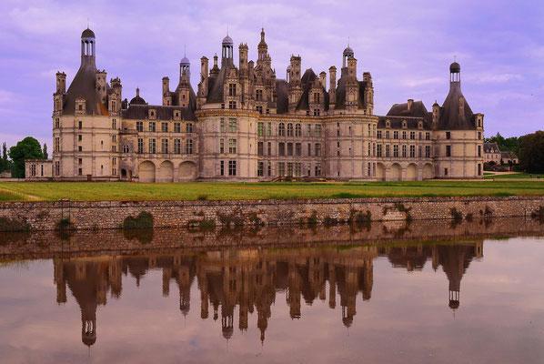 45 - Frankreich Schloss Chambord.