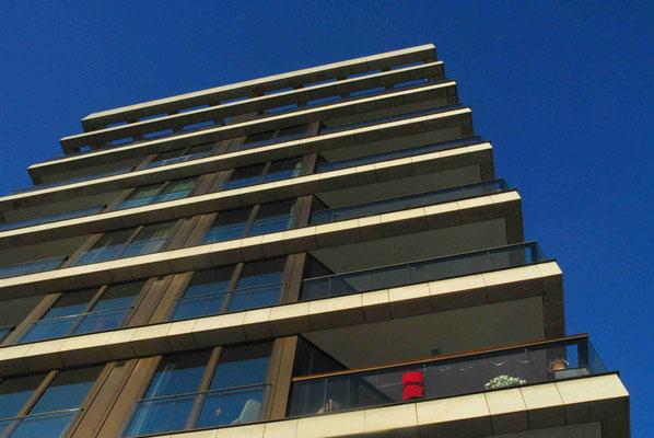 23- Hamburg, Architektur, Hafencity, Hafen, City, Wohnhaus, modern