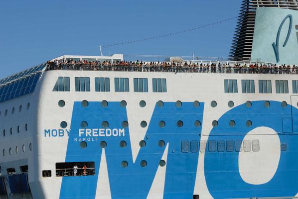 157 - Moby Line - die Fährverbindung nach Korsika.